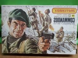 Matchbox 1/32 Scale British Commandos Combat Troops Play Set