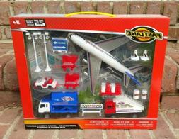 Fast Lane 1:43 Scale Diecast Airport Vehicle Set