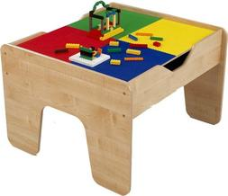 2-in-1 Lego and Train Activity Table Finish: Natural