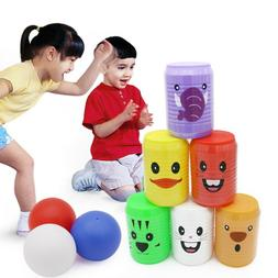 1 Pack 9 Pcs Bowling Educational Sports Outdoor Bowling Play