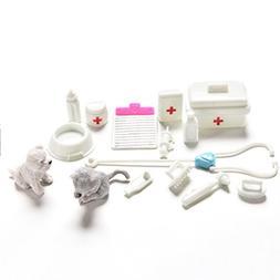 AOWA 1 Set Medical Supplies Mini Doll Medical Toys Accessori