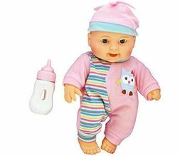 """10"""" Cute Adorable Baby Doll Play Set+Bottle Reborn Soft Full"""