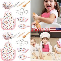 11pcs Pretend Kitchen Play Set for Kids Boys Girls Cooking B