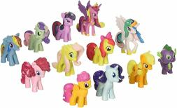 Win8Fong 12 piece Set My Little Pony Toys Figurines Playset