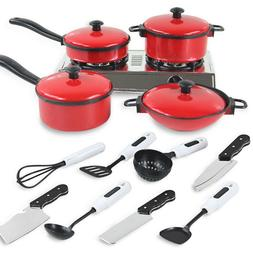 13pcs/Set Pots and Pans Kitchen Utensils Cookware Children P