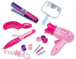 "14 pc Hair Styling &  Accessories Play Set made for 18"" Amer"