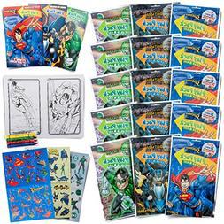 Bendon 15 Super Hero Play Packs Superman Batman Green Lanter