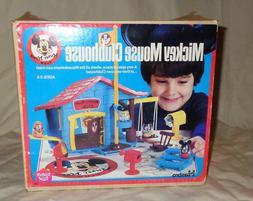 1976 Hasbro Walt Disney Mickey Mouse Clubhouse Play Set Comp