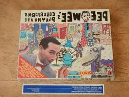 1987 PEE WEE'S PLAYHOUSE COLORFORMS DELUXE PLAY SET, PEE WEE