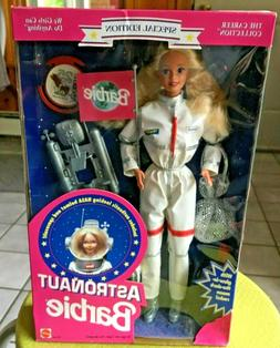 1994 MATTEL ASTRONAUT BARBIE DOLL SPECIAL EDITION CAREER COL