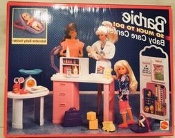 1994 NEW NIB Barbie BABY CARE CENTER So Much To Do Hospital