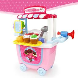 1pcs Ice Cream Toy Set Role Play Playset Learning Toys for C