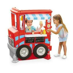 Little Tikes 2-in-1 Food Truck Play Kitchen with 20 Piece Ac