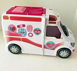 2-in-1 Fun Playset Barbie Care Clinic W/ Lights & Siren Two