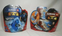 2 LEGO NINJAGO - Cole Dragon Master 70645 Jay Spinjitzu Mast
