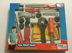 20 Piece Boys Tool Belt Play Set Toy