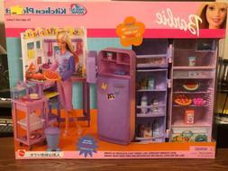 2001 Mattel Barbie All Around Home Kitchen Playset 67554 NEW