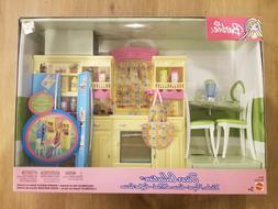 2004 Barbie Decor Collection KITCHEN Playset Multi Language!