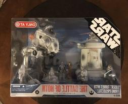 2007 STAR WARS V ULTIMATE BATTLE of HOTH FIGURE PLAYSET MIB