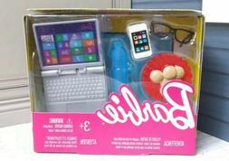 2017 Barbie Electronics Tech Accessory Pack *Laptop* *Cell P