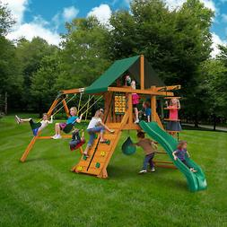 2019 Best Swing Set Gorilla Playsets Highpoint II Cedar Wood