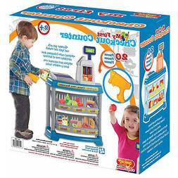 AMLOID 20pc MY FIRST CHECKOUT COUNTER PLAY SET ASSEMBLED KID
