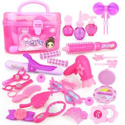 24-32PCS Pretend <font><b>Play</b></font> Kid Make Up Toys P