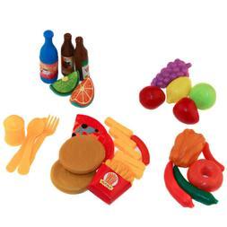 24pcs/Set Kids Toddler Party Food Playset for Girls Boys Par