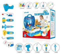 27 Pack Deluxe Doctor Medical Kit - Pretend Play Set Kids Bo
