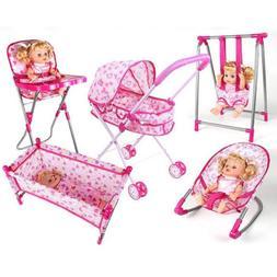 30*30*41cm Baby Doll Swing Model Simulation Furniture Playse