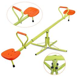 360 degree rotation kids seesaw children outdoor