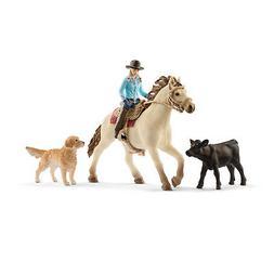 42419 Schleich Western Riding  Plastic Figure