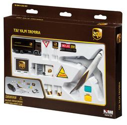 Realtoy 4341 UPS Playset with Boeing 747 Diecast Model & Air