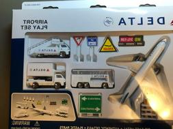 Realtoy 4991 Delta Airlines Playset with Diecast Model Airli