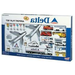 Realtoy 4992 Delta Airlines Large Playset with Airliners & A