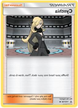 4x Pokemon Card: Cynthia 119/156 Playset Ultra Prism Uncommo