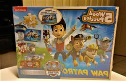 Paw Patrol 5 Wood Puzzles Assembly Toy Kids Gift Play Set Co