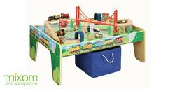 Maxim 5008450 Pc Wooden Train Set Wtab