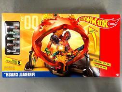 Hot Wheels, 50th Anniversary, Fireball Crash, Track Set, 5 C