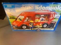 Playmobil 5632 City Food Truck Van Vehicle Playset Toys For