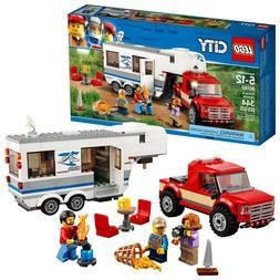 LEGO 60182 City Great Vehicles Pickup & Caravan Building Pla