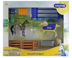 # Breyer 6027 stablemate English play set, nice set   <><