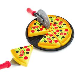 6PCS Kids Baby Pizza Party Fast Food Cooking Cutting Pretend