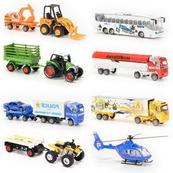 8PCS Diecast Metal Car Models Children Toy Play Set Vehicles