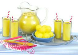 9 pc lemonade play set for 18