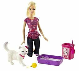 Barbie Potty Training Blissa Barbie Fashion Doll and Pet Pla