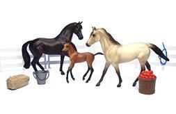 Breyer Classics Sport Horse Family Toy Set