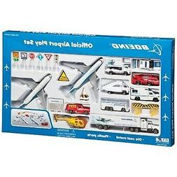 Daron Boeing Aircraft Playset 24-Piece