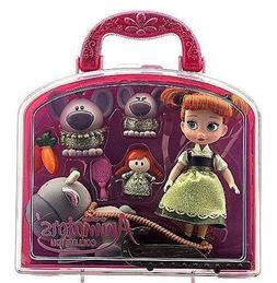 Disney Animators' Collection Anna Mini Doll Play Set - 5'' -