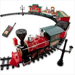Disney Park 30 piece Christmas Train Set with Mickey, Goofy,